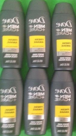 10 DOVE MEN+CARE. TRAVEL SIZE FRESH AWAKE!! BODY/FACE WASH.