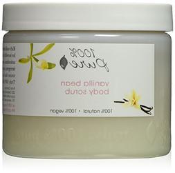 100% Pure: All Natural and Organic, Body Scrub - Vanilla Bea