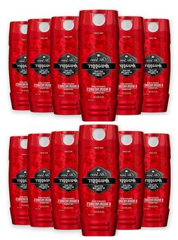 12  Old Spice Red Zone Body Wash Swagger