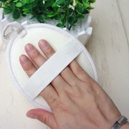 1pc nature loofah sponge soft band strip massage brush skin