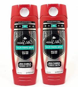 2 Old Spice Working Collection PURE SPORT PLUS Body Wash Sho