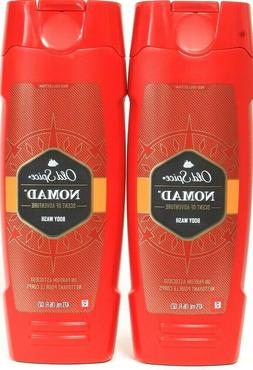2 Bottles Old Spice Red Collection 16 Oz Nomad Scent Of Adve