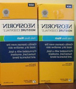 Neosporin Essentials Moisture Body Wash, Soap & Fragrance F