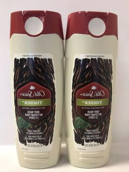 Old Spice Fresher Collection TIMBER Men's Body Wash With Mi