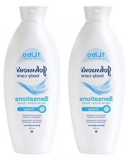 2 Johnsons Body Care Sensations Body Wash ENERGY Shower Gel