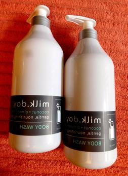 2 Milk Day COCONUT + ALMOND MILK Body Wash 32 oz each