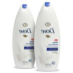 Dove Deep Moisture Body Wash 22oz each / Shampoo & Conditio