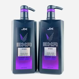 2-Pack AXE Excite Body Wash XL Clean & Energized 28 fl.oz 82
