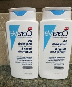 2 Pack Sealed CERAVE SA BODY WASH FOR ROUGH BUMPY SKIN 10 OZ