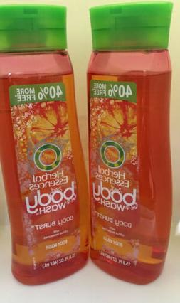 2 PK Herbal Essences Body Burst Body Wash Citrus Essences BI