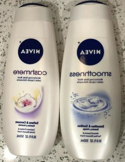 2 Nivea Smoothness / Cashmere Body Wash