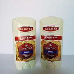 2 VALUE size Old Spice Amber Black