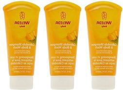 - Weleda - Calendula Shampoo & Body Wash | 200ml | 3 PACK B