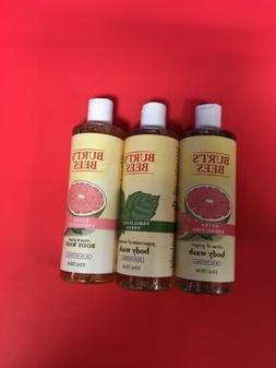 3-BURT'S BEES BODY WASH CITRUS & GINGER  12 OZ . Body Wash,