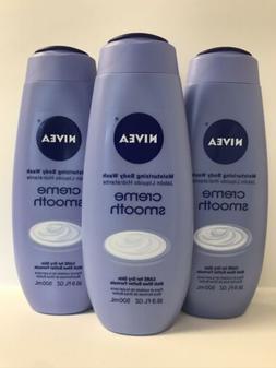 NIVEA Creme SMOOTH Moisturizing Body Wash W/ Shea Butter For