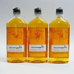 3 HAPPINESS BERGAMOT MANDARIN Bath Body Works Aromatherapy B