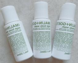 3 - Malin+Goetz Sage Body Wash With 0.3% Sage Extract All Sk
