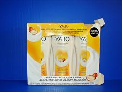 3 PACK, OLAY Ultra Moisture Body Wash with Shea Butter 13.5