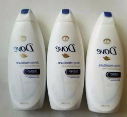 3 packs - Dove Deep Moisture Nourishing Body Wash 22 oz