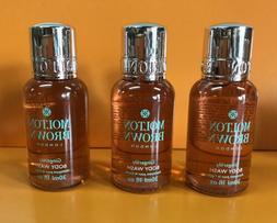 3 x Molton Brown Body Wash Gingerlily 1 oz / 30 ml each