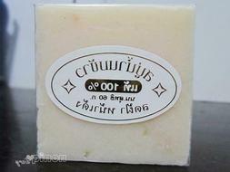 3 x Thai Rice milk Soap Bar  Whitening Skin care Face Wash B