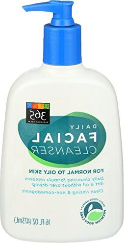 365 Everyday Value, Daily Facial Cleanser, 16 Ounce