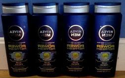 4 Nivea Men 3-in-1 Body Wash, 16.9 oz Each