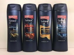 4  Suave MEN Body Wash: Refresh, Energizing, Deep Clean & 2-