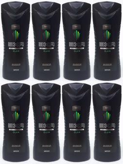 8 Axe for Men KILO Refreshing Fragrances Body Wash Shower Ge
