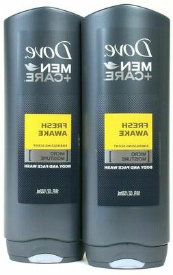8 Dove Men + Care FRESH AWAKE Energizing Scent Micro Moistur