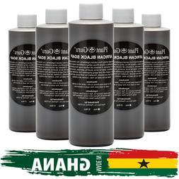 8 oz. Liquid African Black Soap Raw 100% Pure Natural Organi