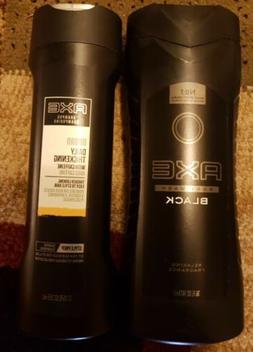 Axe Body Wash, Black 16 oz & Axe Shampoo Urban Daily Thicken
