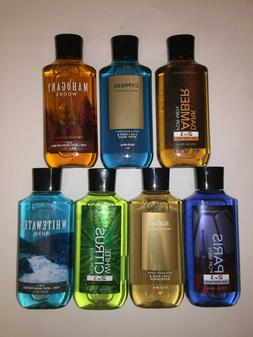 BATH AND BODY WORKS SHOWER GEL FOR MEN - BODY WASH 10 oz / 2