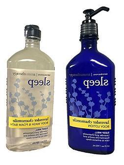 Bath & Body Works, Aromatherapy Sleep Body Lotion and Body W
