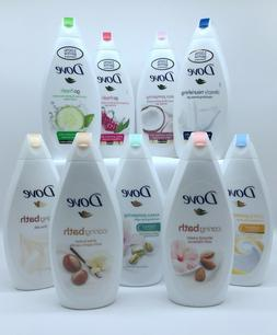 Dove Friuts Package Body Wash Shower Gel  Assort Of 4 Scents