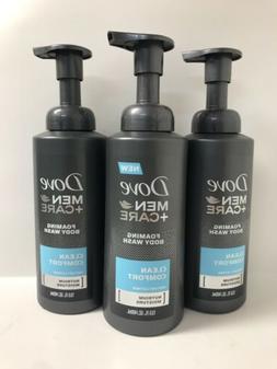 Dove Men + Care Foaming Body Wash, Clean Comfort, 13.5 fl oz