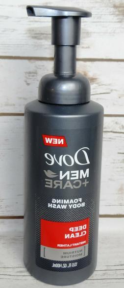 Dove Men + Care Foaming Body Wash, Deep Clean 13.5 fl oz
