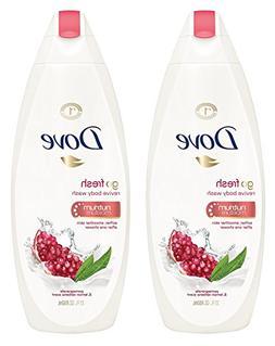 Dove Revive Body Wash - Go Fresh - Pomegranate & Lemon Verbe