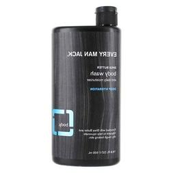 Every Man Jack Body Wash, Shea Butter, 16.9 Fluid Ounce