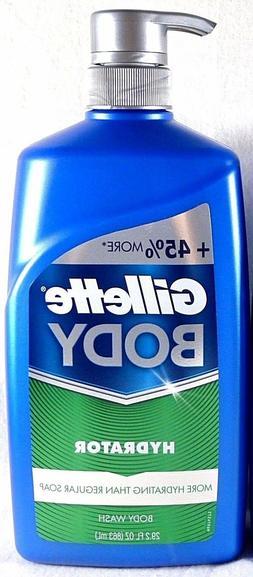 Gillette Odor Shield Body Wash Pump 29.2 oz, pack of 1