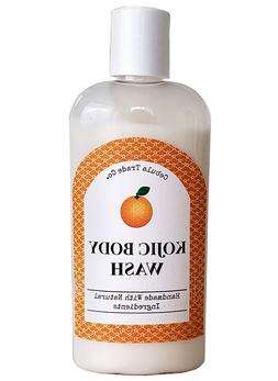 Kojic Acid BODY WASH Liquid Facial Soap, Skin Whitening Ligh