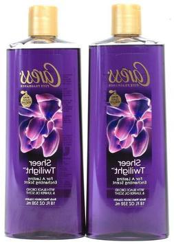 LOT OF 6 - LARGE Bottles  CARESS Body Wash Sheer Twilight Bl