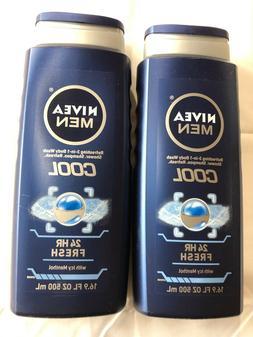 NIVEA MENS BODY WASH COOL 16.9 OZ