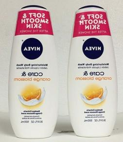 Nivea Moisturizing Body Wash Care & Orange Blossoms 3 pack -