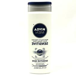 Nivea for Men Sensitive Body Wash-16.9, oz.