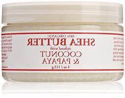 Nubian Heritage Shea Butter Lotion, Coconut and Papaya, 4 Ou