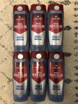 Old Spice Odor Blocker Deo Fresh 16hr Scent Body Wash Shower