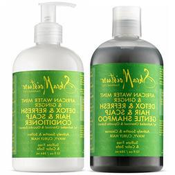 Shea Moisture, African Water Mint & Ginger – Detox Hair &
