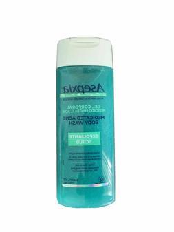 Asepxia Shower Gel Acne Blackhead Pimple Treatment & Exfolia
