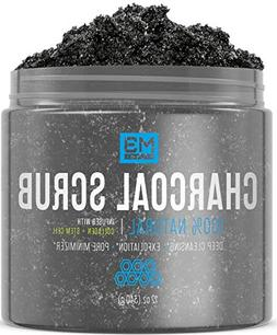 M3 Naturals Activated Charcoal Scrub + Stem Cell & Collagen